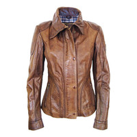 Women Fur Waist_Length Designer women leather jacket western suit style tailor collar slim fit shape business casual jacket free shpping