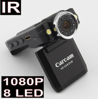 Wholesale 2015 Newset Full HD P Car DVR Cam Recorder Camcorder Vehicle Dashboard Camera IR LED