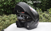 Wholesale LS2 FF370 undrape face helmet OFF Road Helmet of ABS and matte black color Motorcycle helmet Moto racing helmet Motorbike helmet L XL XXL
