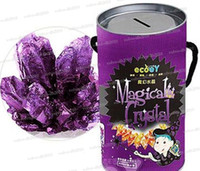 Wholesale NEW Magical Crystal Magic Crystal Crystal Growing Kit DIY Crystal Soil Growing Wish Flower LLY130