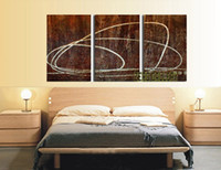 Wholesale Picture Handpainted modern abstract surrealist large canvas brown all group oil paintings Living Room Decorative Reproduction No Frame