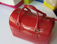 Wholesale Candy bag woman handbag flash color candy women bag lady totes