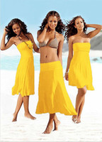 Wholesale swimwear New Trends Fashion sexy Bikini dress swimsuit Cover Up Beach dress new fashion