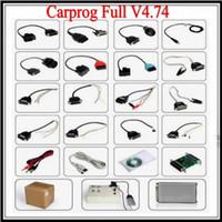 For Honda audi car parts - 2013 new CARPROG FULL V4 carprog programmer repair tool with part dongle count reset cable car prog diagnostic tool
