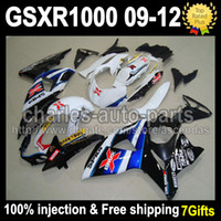 7gifts Injection Mold Body For SUZUKI Blue X GSXR1000 09- 12 ...