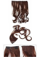 Wholesale Popular Curly Clip In Hair Extensions quot Long