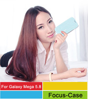 High Quality PU+PC For Samsung For Christmas Cool Case Cool Price--Kalaideng ICELAND Series Flip Cover Thin Leather Case For Samsung Galaxy Mega 5.8 i9150 (Kalaideng Agent 100pcs)