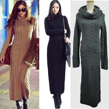 Long Sleeve Sweater Dress. Accessorize with a sleek and stylish sleeveless or long sleeve sweater dress for a look that radiates sophistication and elegance without compromising the overall look of a casual fashion ensemble.