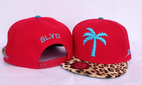 Wholesale Hot Sale Newest BLVD Camouflage Snapback Hats Snapbacks hats snap backs Hats Snapbacks