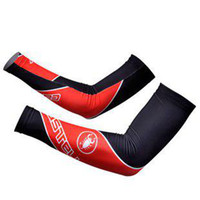 Arm Warmers Adult (Men) Cycling CASTELLI team Arm Sleeve Warmers Cycling UV Protection Cycle Bicycle Bike Sport