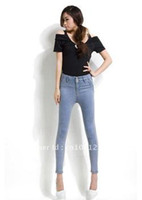 Wholesale 2012 Cotton Denim Jeans Small Harem s Fashion FWJ10013