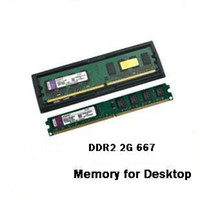 Wholesale Brand New Sealed Desktop computer Ram G DDR2 Memory
