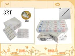 Professional Tattoo Needle 3RL 100PCS BOX and tattoo tip 3rt 100PCS BOX high quality
