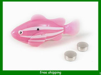 Wholesale Simple Order styles Robo Fish Magical Turbot Fish Christmas Kids Toys