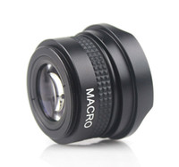 Wholesale New Black mm X Wide Angle Fisheye Lens for Canon Nikon Sony E0064A