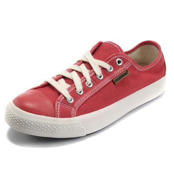 Low Canvas Lace Up Sneakers Women 2013 Brand, Plain Casual Shoes Summer With Box Dropshipping Red, Black, Gray From Calsonusa, $56.55 | Dhgate.Com