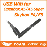 Wholesale 150M USB WiFi with Antenna Wireless Network Card LAN Adapter best for Openbox X3 x5 x5 superskybox m3 f5 f4 model