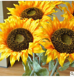 Wholesale Single head sunflower high simulation flower flowers flower decoration living room floor plastic flower flower flower