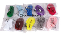 Electronic Cigarette Set Series  Colorful Hot Selling EGO Lanyard,string,necklace for e cig with Chain ring 11 Color available pure cotton comfortable and fashion 100pcs