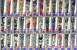 Wholesale WOW Popular Mixed Designs Tattoo Arm Sleeves