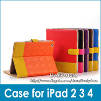 30pcs Luxury Leather Case Cover for iPad 2 the new iPad iPad...