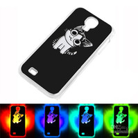 Wholesale Calling Sense LED Flash Light Case Hard Back Cover For Samsung Galaxy S4 i9500