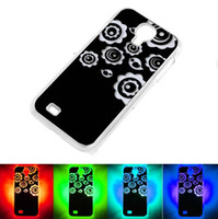Wholesale Calling Sense LED Flash Light Case Color Changing Hard Back Cover Skin For Samsung Galaxy S4 i9500
