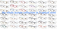 Wholesale Eye Wonder Men s and Women s acetate optical eyeglasses Frames Gafas Luenette Bril Designer spectacle frames
