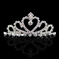 Wholesale Fashion Rhinestone Wedding Jewelry Accessory Pageant Beauty Contest Girls Head Pieces Comb Headwear