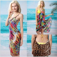 Wholesale V style swimwear multi function gallus skirt sexy ladies beach cover ups Summer Lady Sexy dress bikini suit KY196