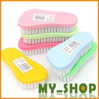 Wholesale Practical cleaning brush plastic brush bristles laundry multifunctional foot board modelling scrub brush