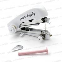 Wholesale New Mini Handy Clothes Fabric Sartorius Sewing Machine LLY141