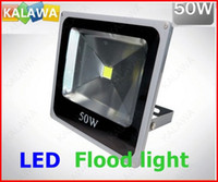 Wholesale 50W High Power LED flood light Compact shape Spot light Spotlights IP V White Red Green Blue FFF