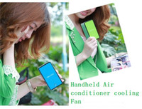 Wholesale NEW portable HandHeld Mini Air Condition Cooling cool Fans mini cooli fan