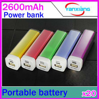 Wholesale DHL External Portable Battery mAh Mobile Power Bank charger for iPhone G S GS G iPod Digital Devices RW PB