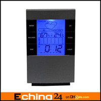 weather station - Digital LCD Screen LED Projector Alarm Clock Weather Station