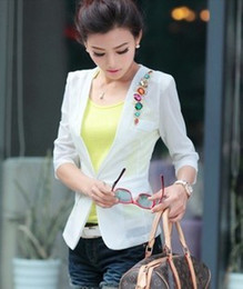 Wholesale Candy Color women clothes suit WOMAN SUIT BLAZER FASHION thin coat for fall