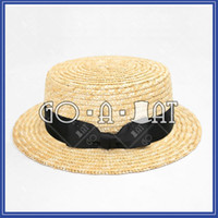 Wholesale Summer Beach Straw Fedora Trilby Panama Brim Boater Hat Unisex