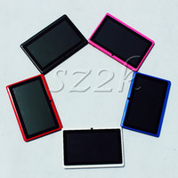 Wholesale 7 inch tablet pc Q88 A13 android Capacitive Screen RAM M ROM GB WIFI allwinner a13 Single or Dual Camera Cheap