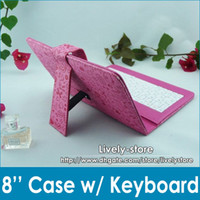 MOQ 60pcs 8inch Magic Girl Universal Case with Keyboard Case...