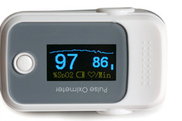 Wholesale Color OLED Fingertip Pulse Oximeter with Audio Alarm amp Pulse Sound