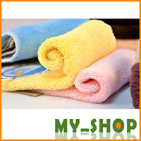 Wholesale Rag cleaning cloth non stick oil absorbent microfiber kitchen dish cloth pack