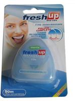 Dental Floss 50cm  50M Dental floss oral care kit dental hygiene 10pcs lot free shipping