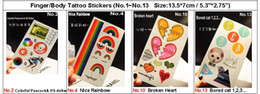 Wholesale Free Ship Fashion Sexy tattoo stickers arm neck Tattoos can mix designs
