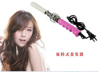 Wholesale Retail Hot safe ceramic hair curlers hair curling iron A016
