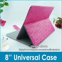 Promotion 50pcs 8inch Magic Girl Universal Case with Stand f...