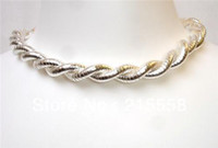 bendable necklace - DIY Flexible Snake Necklace mm European Bendy Twisty Bendable Snake Bangle Bracelet ZN10
