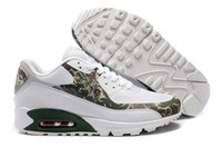 camouflage shoes - Running shoes Brand max camouflage color green full sole cushion sports shoes for men