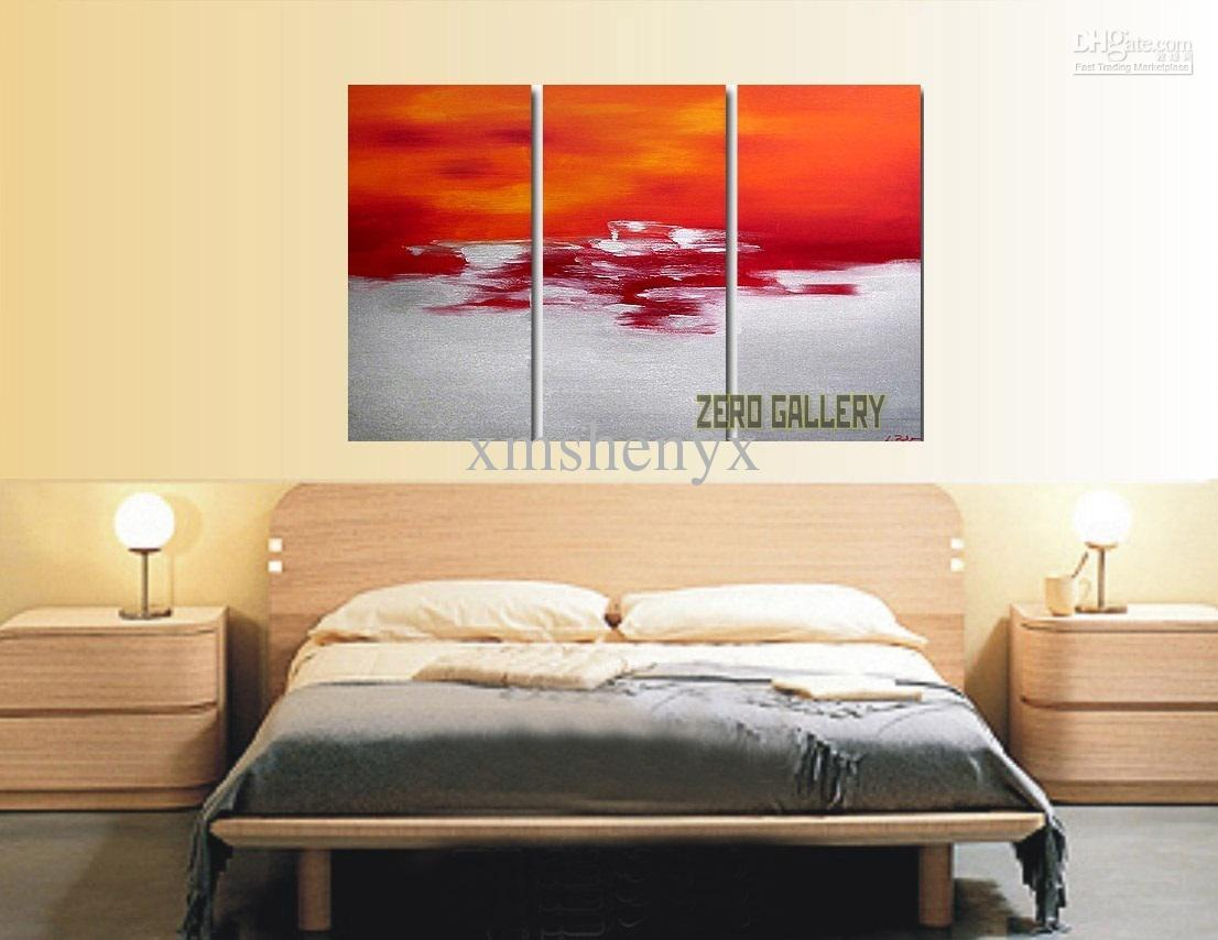 2017 modern abstract oil painting surrealist hotel home for Modern dining room paintings
