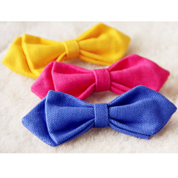 Wholesale Children School Bowtie Kids Wedding Party Tie Baby Clothes Accessories